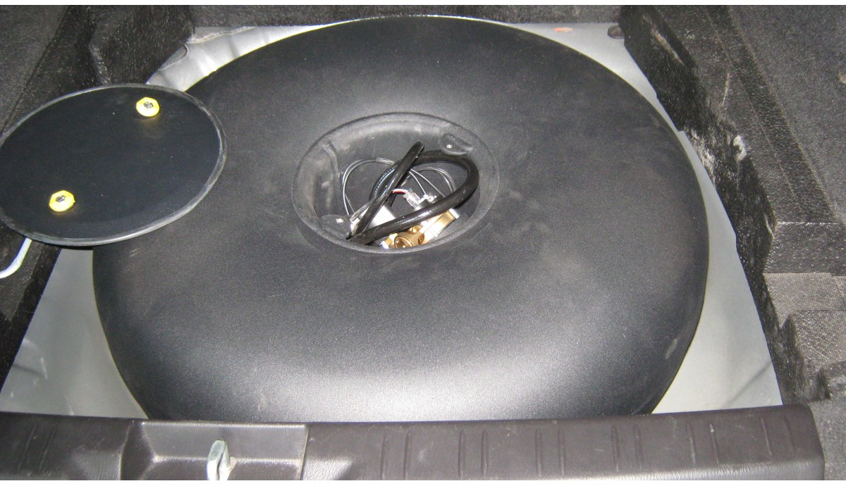 Установка ГБО на Subaru Forester 2.0 2007