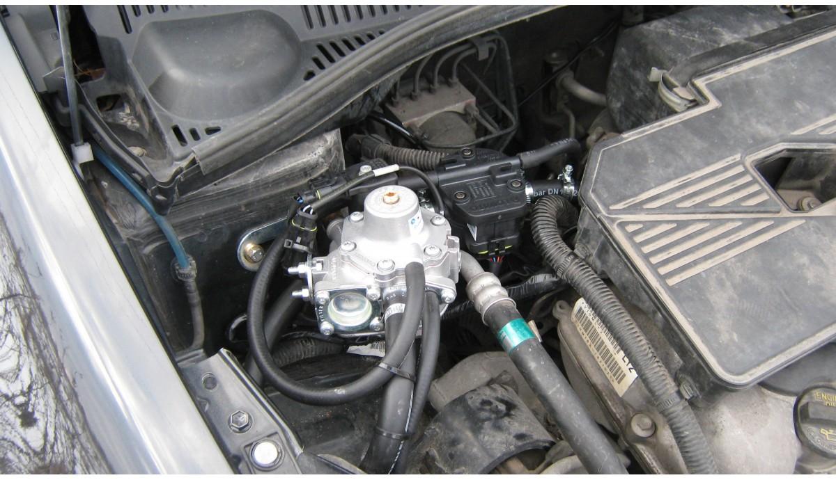 Установка ГБО на Suzuki SX4 1.6 2009