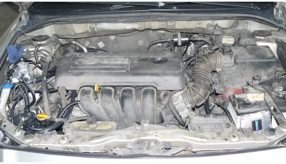 Установка ГБО на Toyota Avensis 1.8 2008