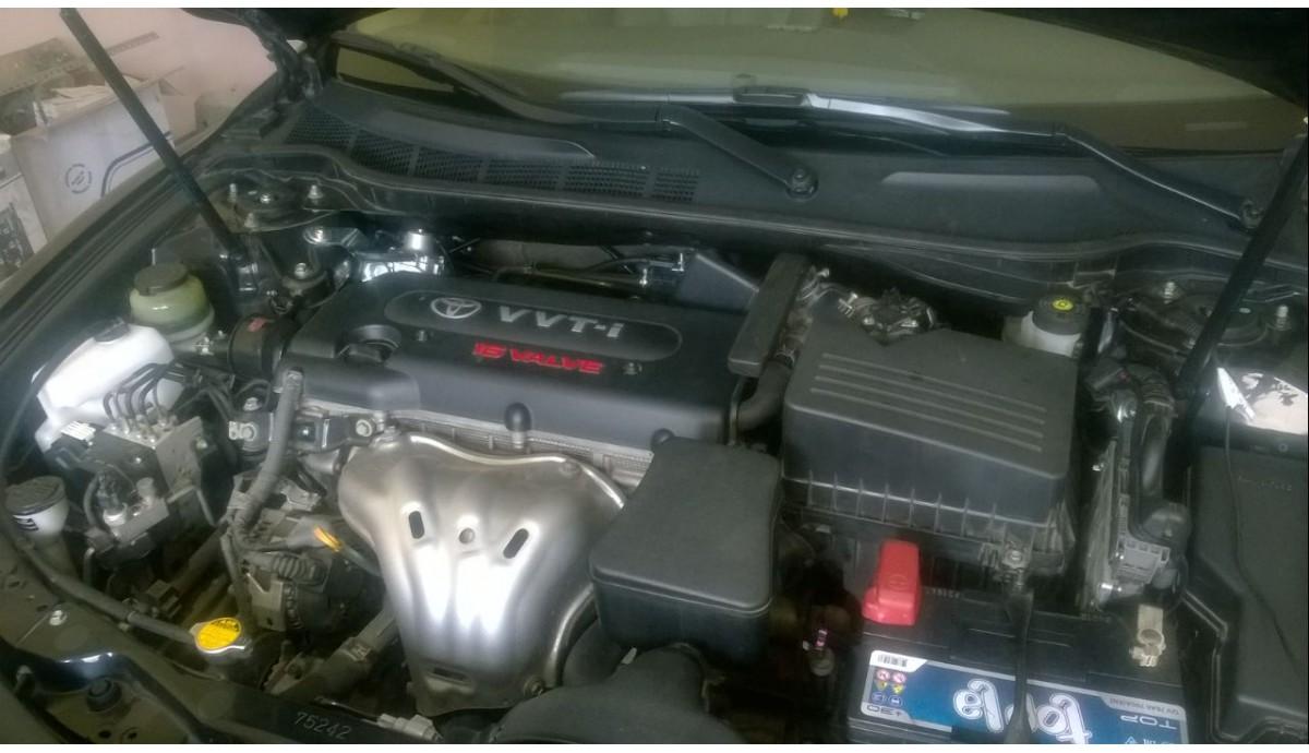 Установка ГБО на Toyota Camry 2.4
