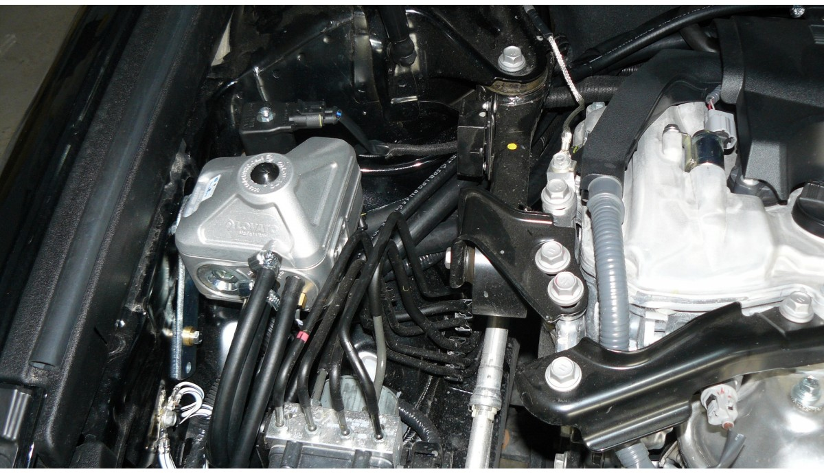 Установка ГБО на Toyota Camry 2.5