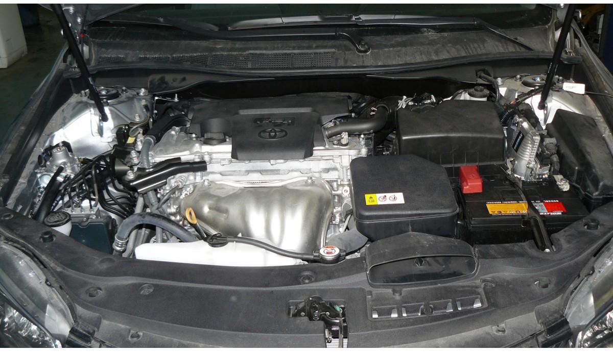 Установка ГБО на Toyota Camry Se 2.5