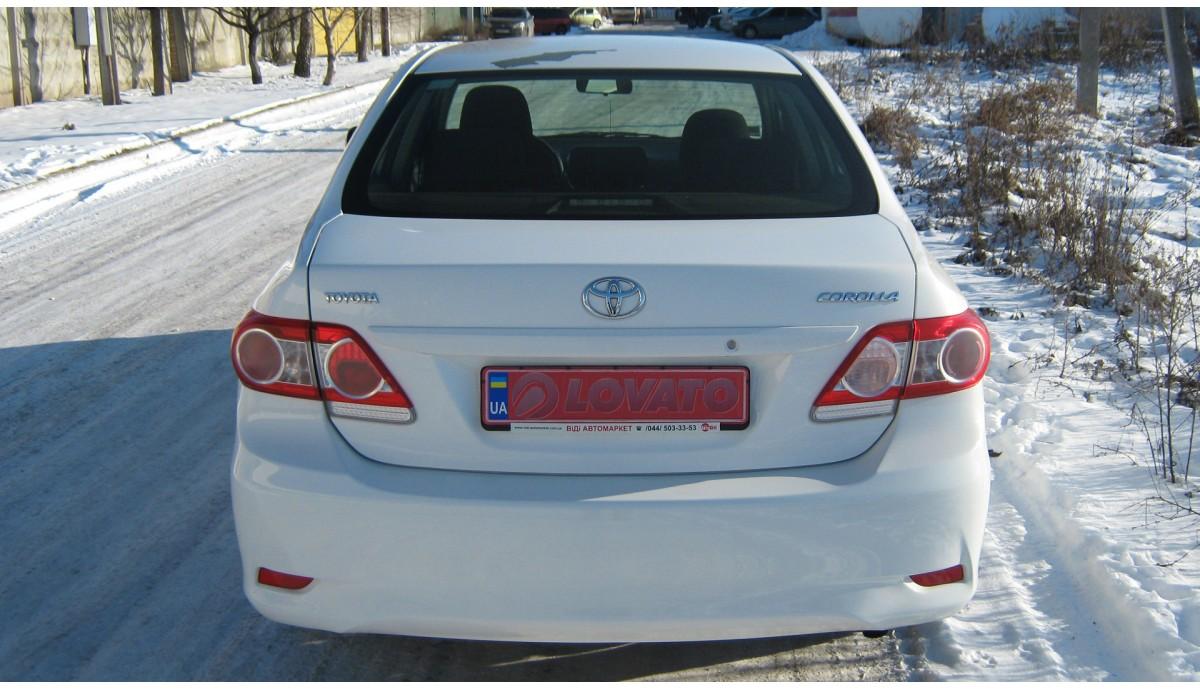 Установка ГБО на Toyota Corolla 1.3 2012