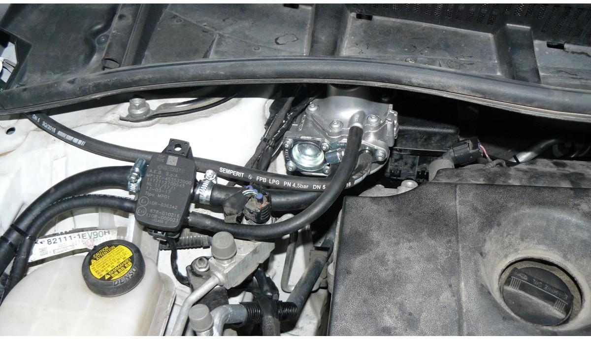 Установка ГБО на Toyota Corolla 1.6