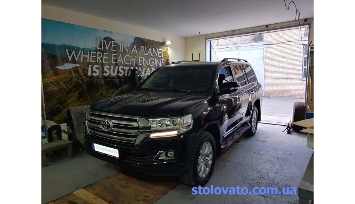 Установка ГБО на Toyota Land Cruiser 200 4.6 2020