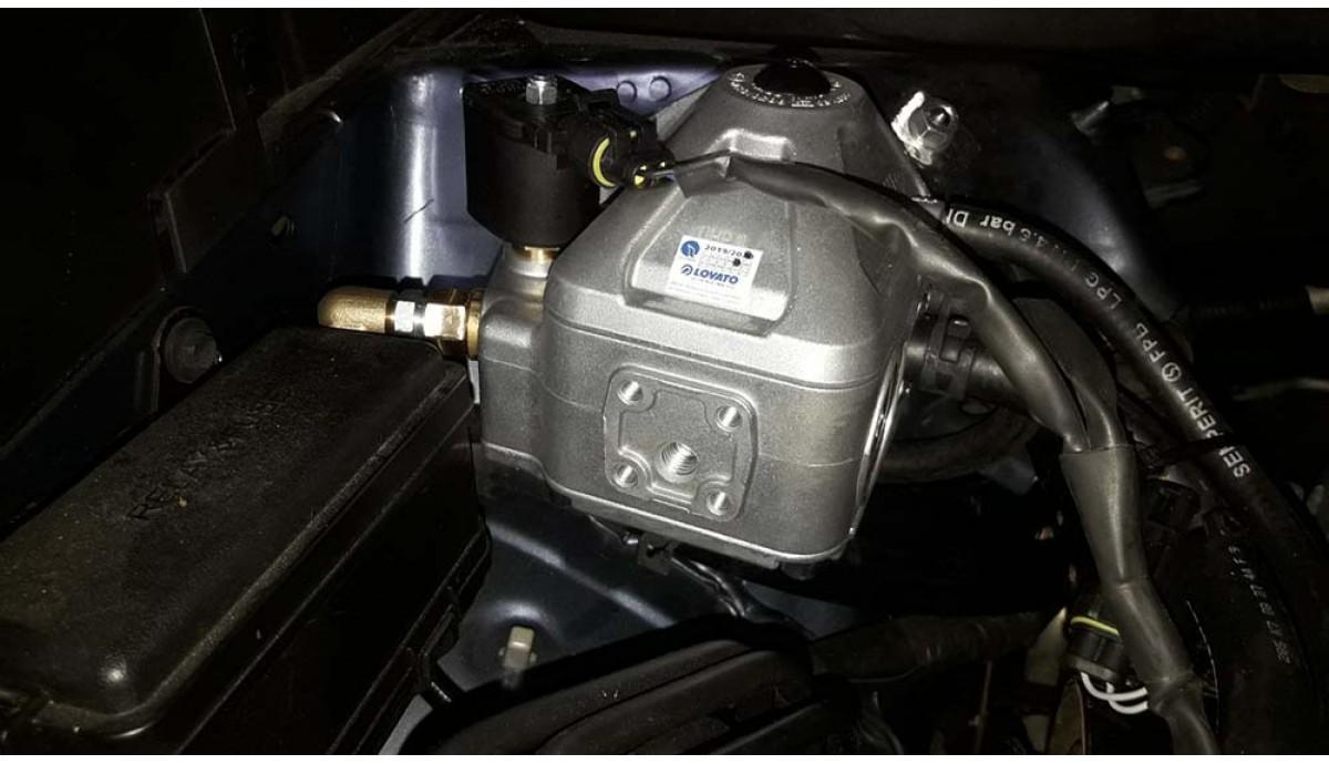Установка ГБО на Toyota Highlander 3.5 2012