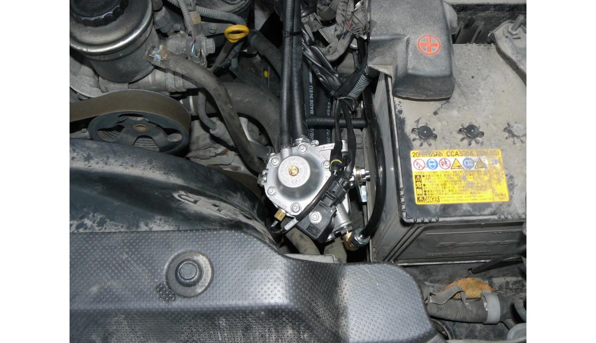 Установка ГБО на Toyota Land Cruiser 150 prado