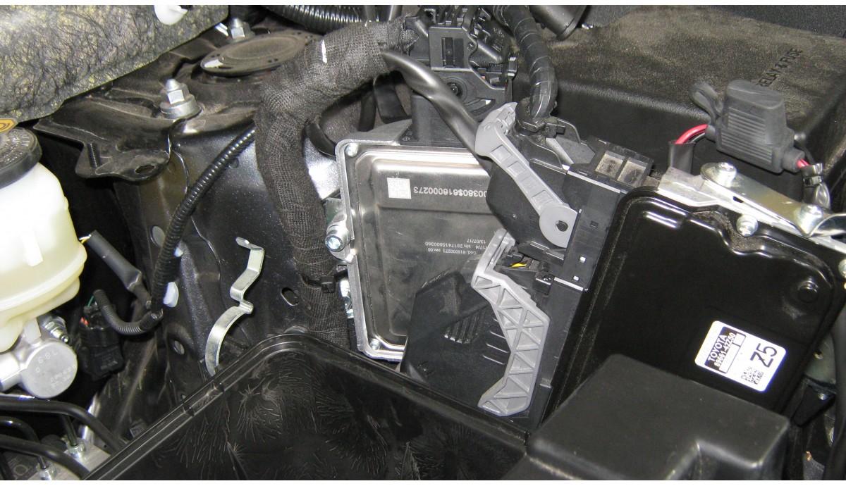 Установка ГБО на Тойота РАВ 4 2017