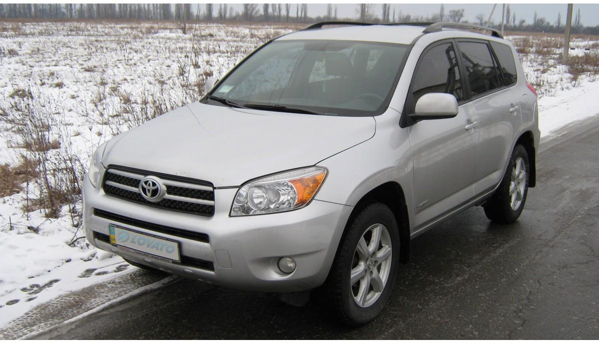 Установка ГБО на Toyota Rav4 2.4 2006