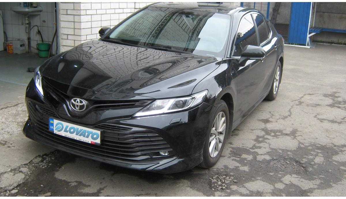Установка ГБО на Toyota Camry 2,5 2019