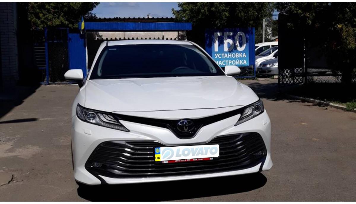 Установка ГБО на Toyota Camry 2.5 new 2018