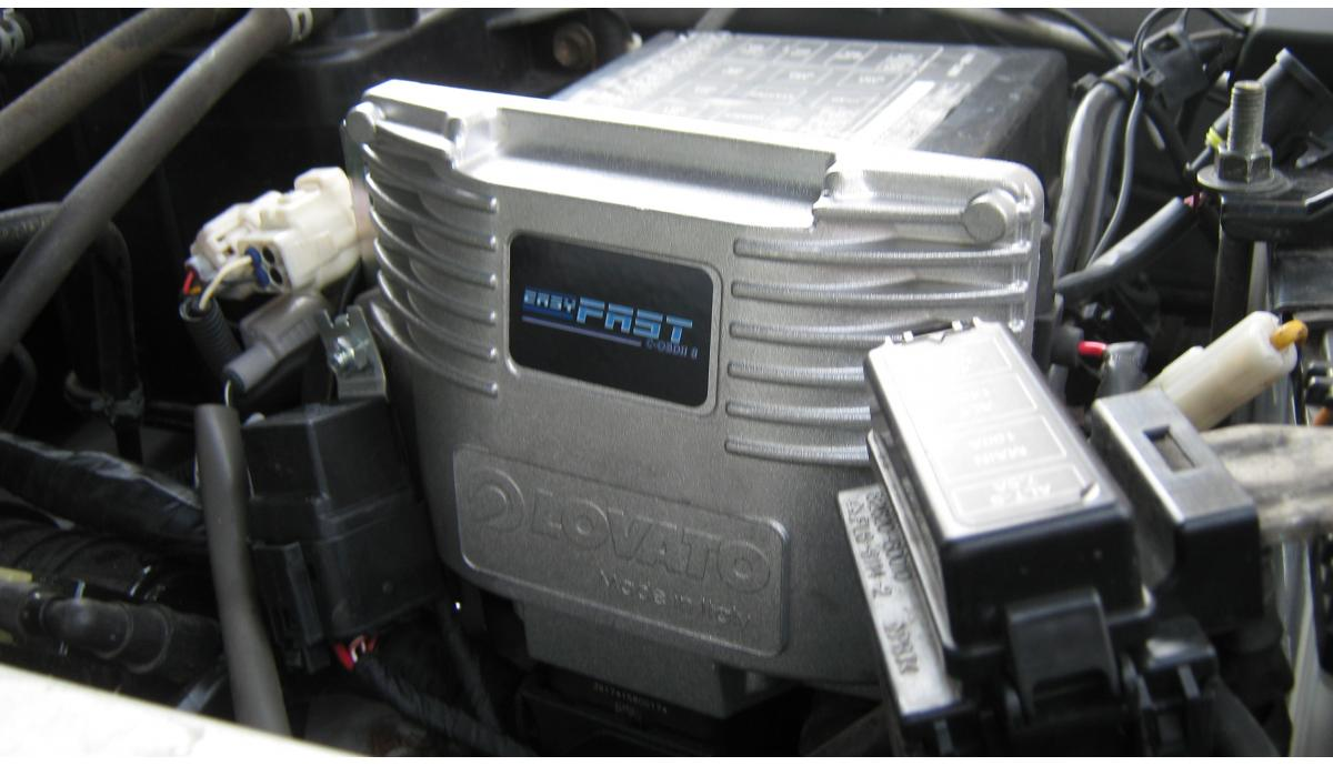 Установка ГБО на Toyota Land Cruiser 4.7 2002