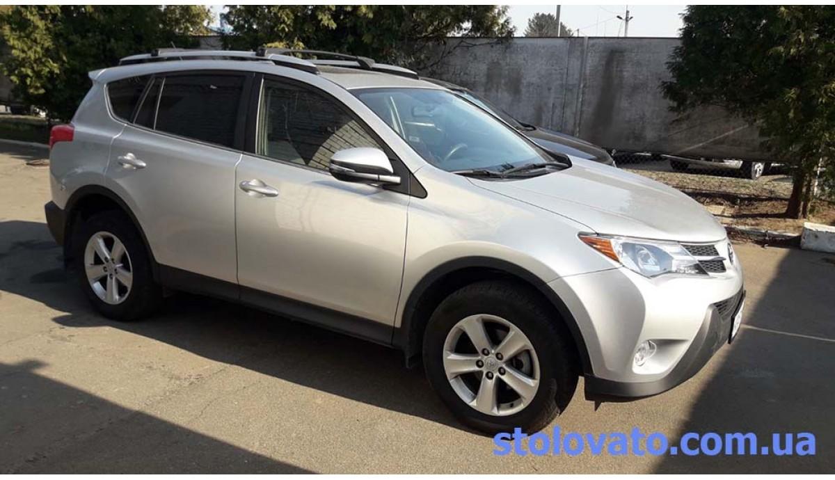Установка ГБО на Toyota RAV 4 2.4 2014