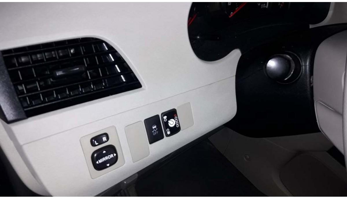 Установка ГБО на Toyota Sienna 2.7 2012