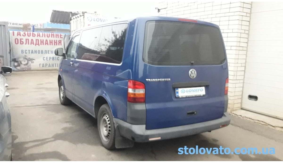 Установка ГБО на Volkswagen Transporter 2.0 2005