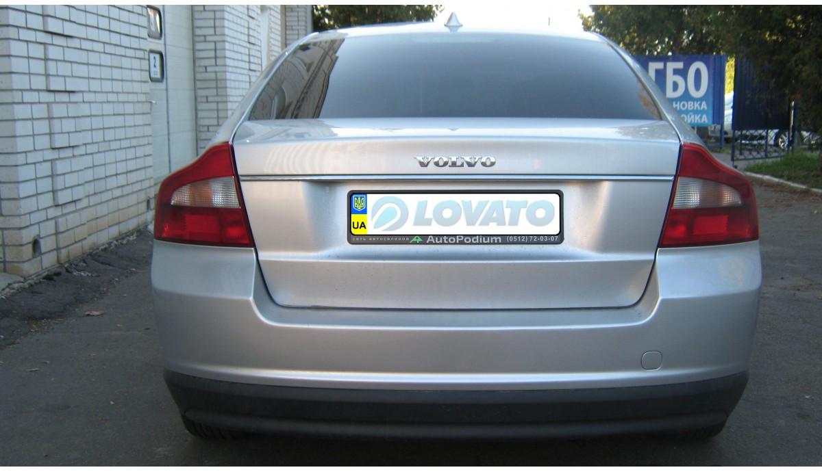 Установка ГБО на Volvo S80 2,5 2007