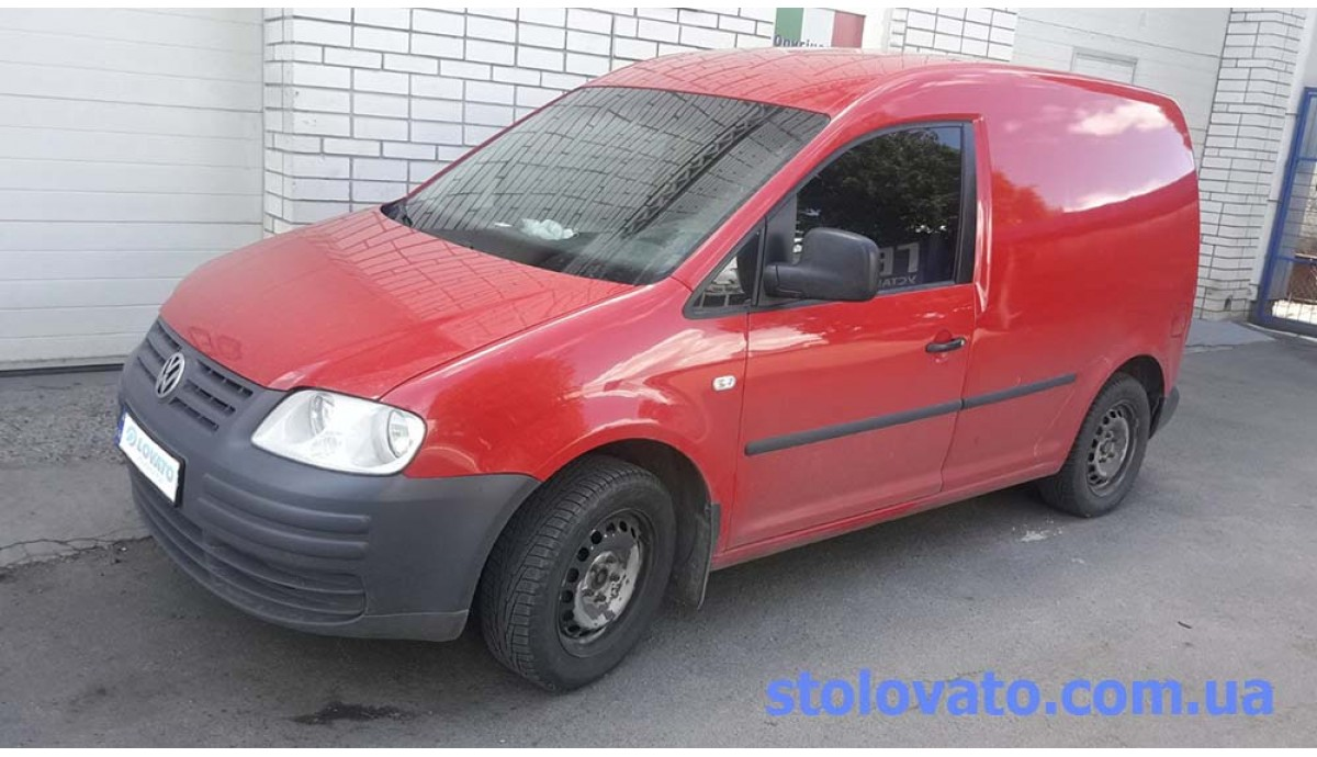 Установка ГБО на Volkswagen Caddy 2.0 (метан/пропан)