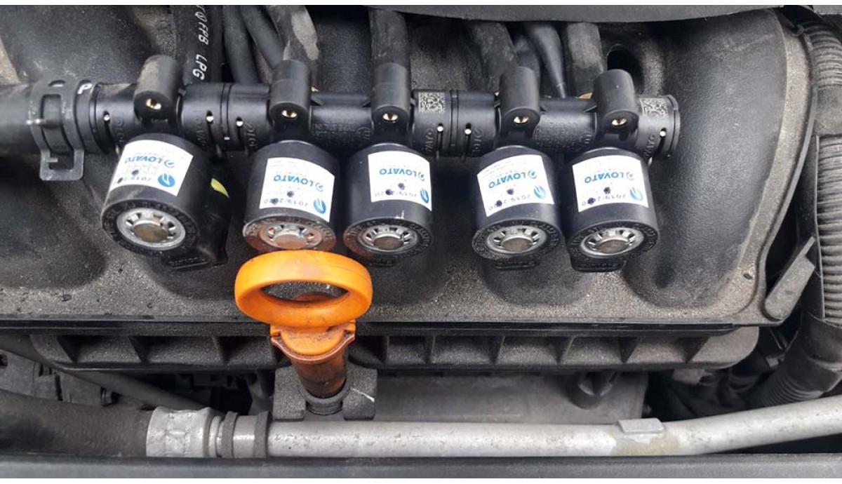Установка ГБО на Volkswagen Jetta 2.5 2012