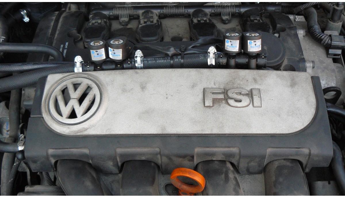 Установка ГБО на Volkswagen Passat 2.0 FSI