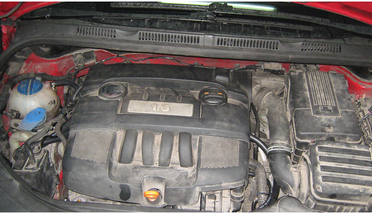 Установка ГБО на Volkswagen Golf+ 1,6 2006