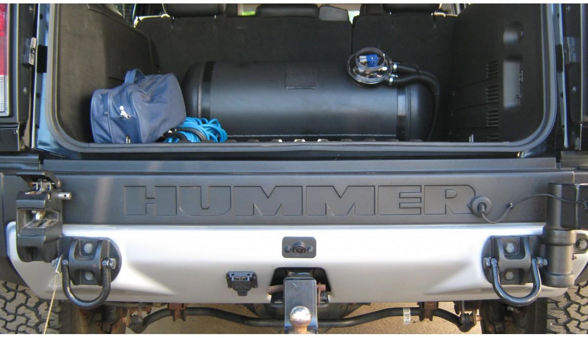 Установка ГБО на Hummer H2