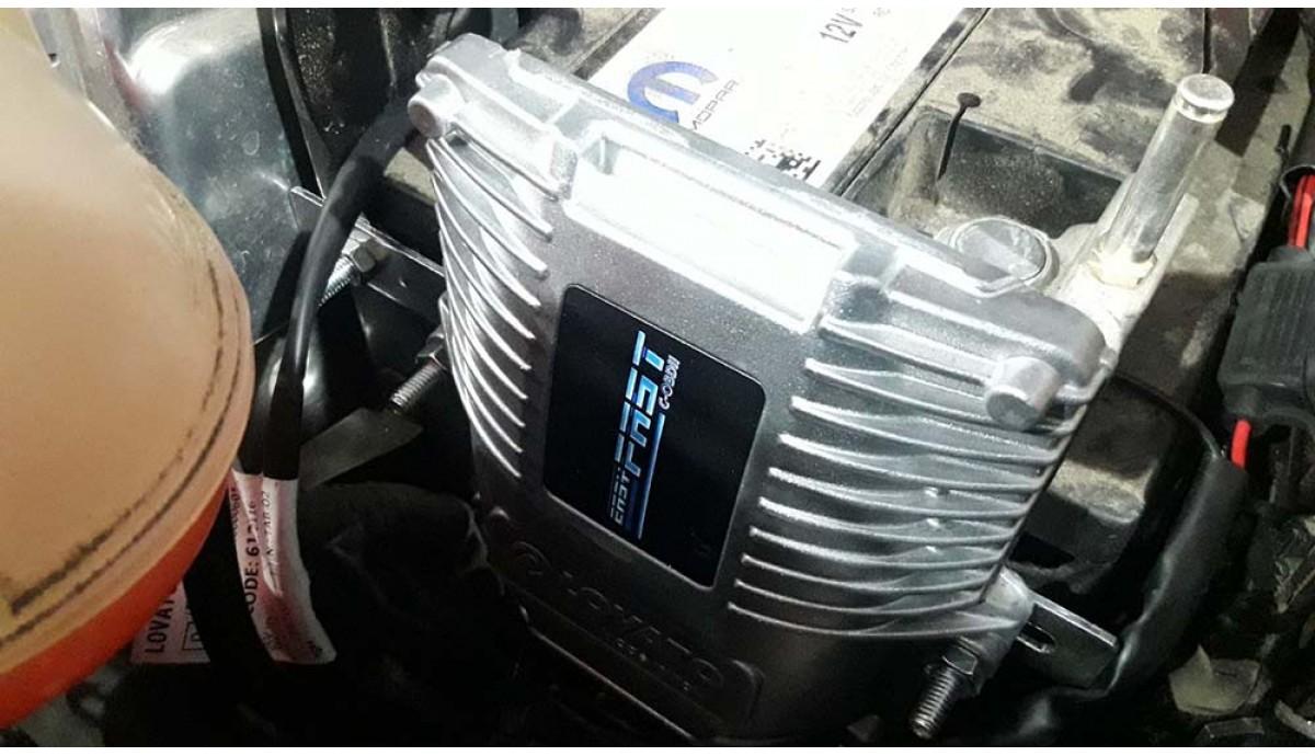 Установка ГБО на Jeep Renegade 2.4 2018