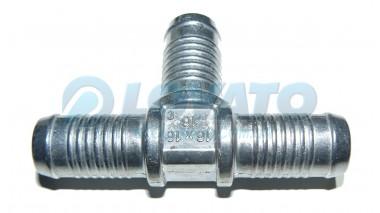 Тройник  (16х16х16) алюминиевый